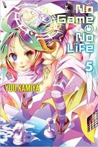 No Game No Life Volume 5 Cover