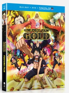 One Piece Film Gold Cover