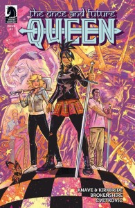 The Once and Future Queen Issue 1 Cover