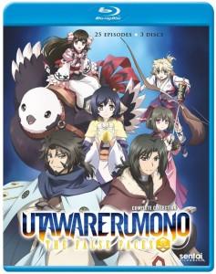 Utawarerumono - The False Faces Blu-ray Front Cover