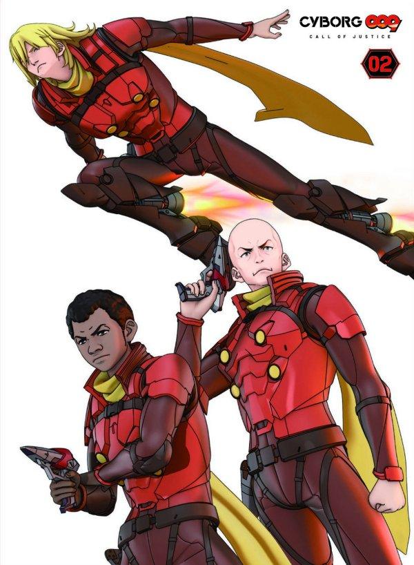 Resultado de imagen para cyborg 009 call of justice ivan y 009