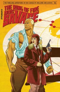 Doc Savage Ring of Fire Issue 1 Cover