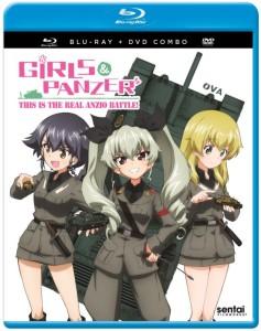 Girls und Panzer Anzio Cover