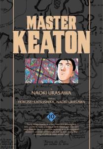 Master Keaton Volume 10 Cover