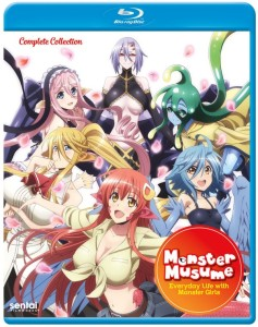 Monster Musume Blu-ray Cover
