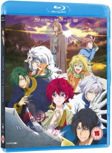 Yona of the Dawn Part 2 UK Blu-ray Cover