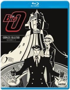 Big-O Blu-ray Front Cover