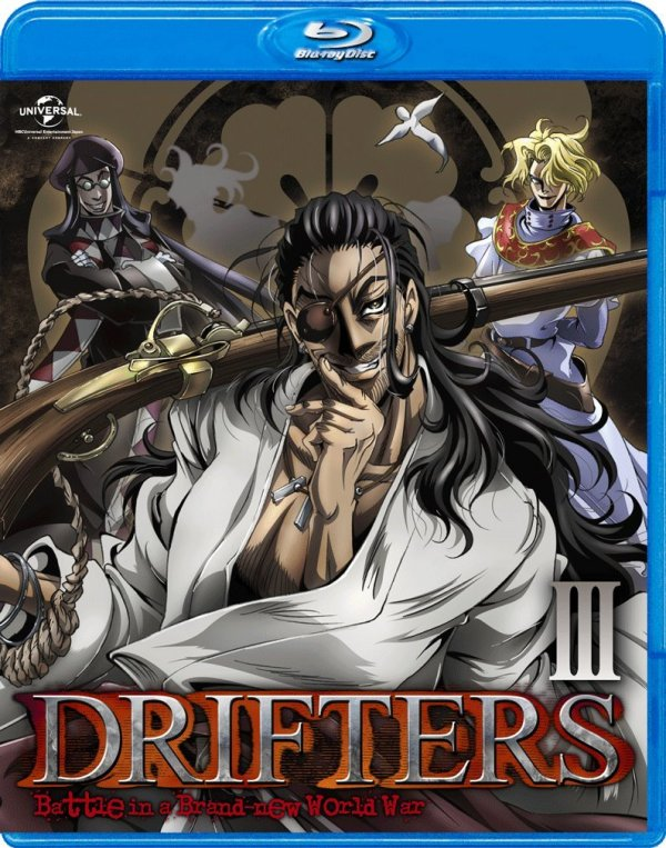 Drifters Japanese Volume 3 Cover