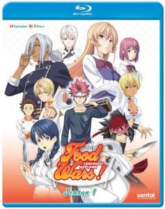 Food Wars Season 1 Blu-ray