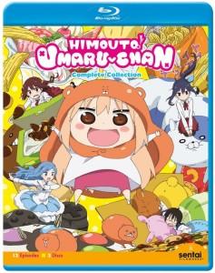 Himouto! Umaru-chan Blu-ray Front Cover