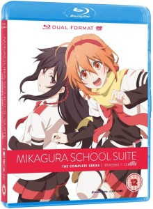 Mikagura School Suite UK Blu-ray Cover
