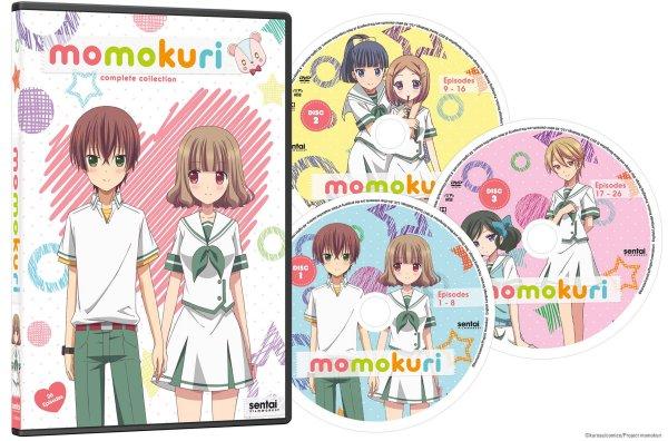 Momokuri DVD Packaging