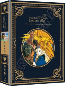 Record of Lodoss War Packaging