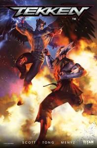 Tekken Issue 1 Cover
