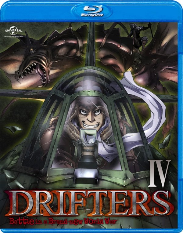 Drifters Japanese Volume 4 Cover