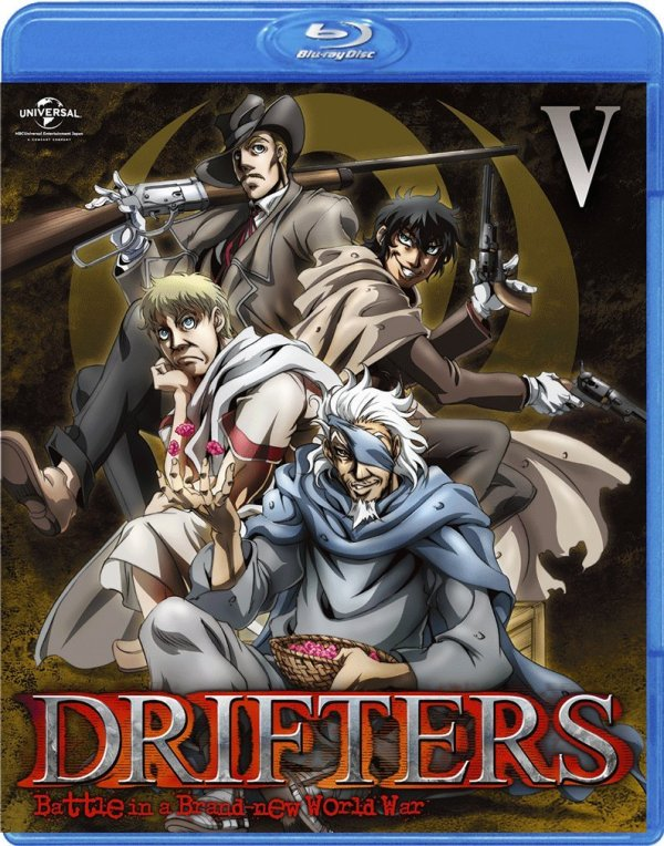 Drifters Japanese Volume 5 Cover