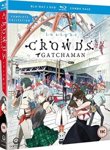 Gatchaman Crowds Insight UK Cover