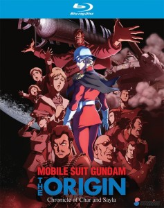 Mobile Suit Gundam The Origin Blu-ray Cover