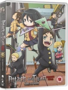 Attack on Titan Junior high UK DVD Cover