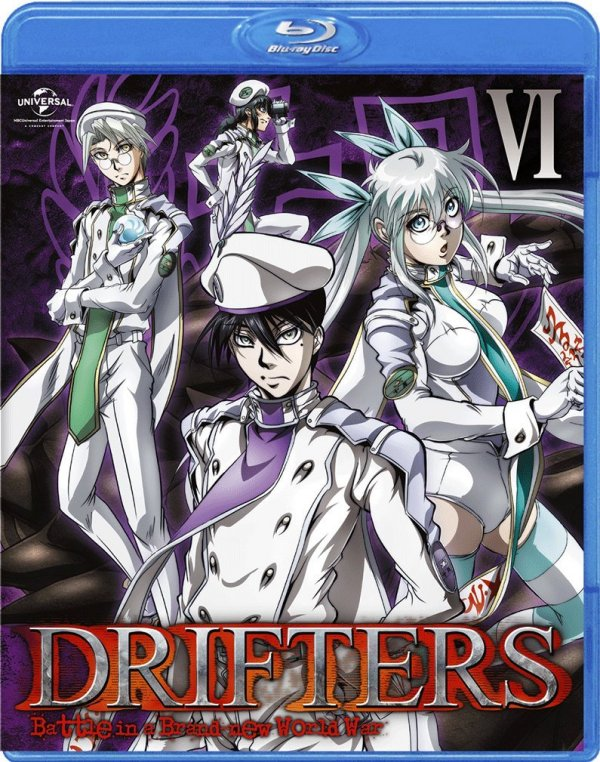 Drifters Japanese Volume 6 Cover