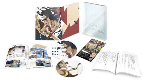Sword Oratoria Japanese Volume 2 Packacing