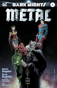 Dark Nights Metal Issue 1 Cover