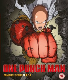 One-Punch Man Season 1 UK Cover