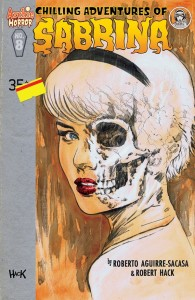Sabrina Issue 8 Cover