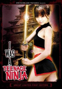 I Was A Teenage Ninja Cover