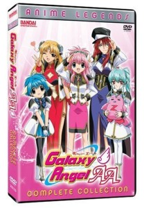 Galaxy Angel AA Anime Legends DVD Cover