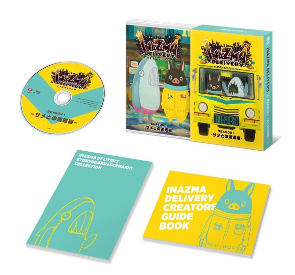 Inazuma Delivery Japanese Volume 1 Packaging