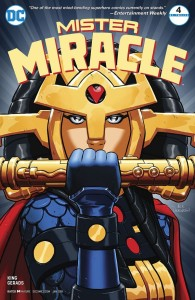 Mister Miracle Issue 4 Cover
