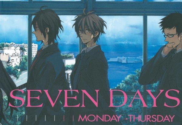 movie seven days monday - thursday friday - sunday
