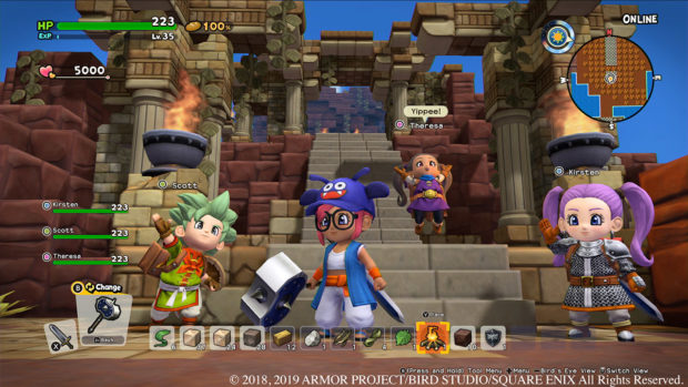 dragon quest builders 2 switch review