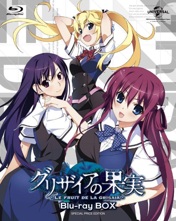 Sanctuary Fellows Grisaia no Rakuen JAPAN Le Fruit de la Grisaia Series manga