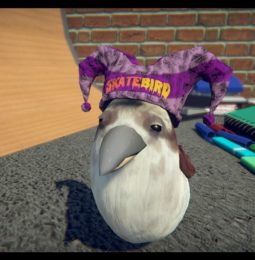 Customize your Birb in SkateBIRD x JAZZ MICKLE's Pro Cap Wearer do a Spoopy Combo!